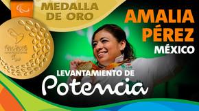 Rio 2016: Amalia Pérez (México) Oro en Levantamiento de potencia