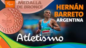 Rio 2016: Hernán Barreto (Argentina) Bronce en Atletismo