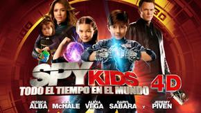 Spy Kids: Todo el tiempo en el mundo 4D